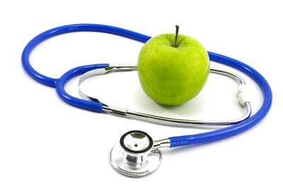 Apple And Stethoscope  by zirconicusso